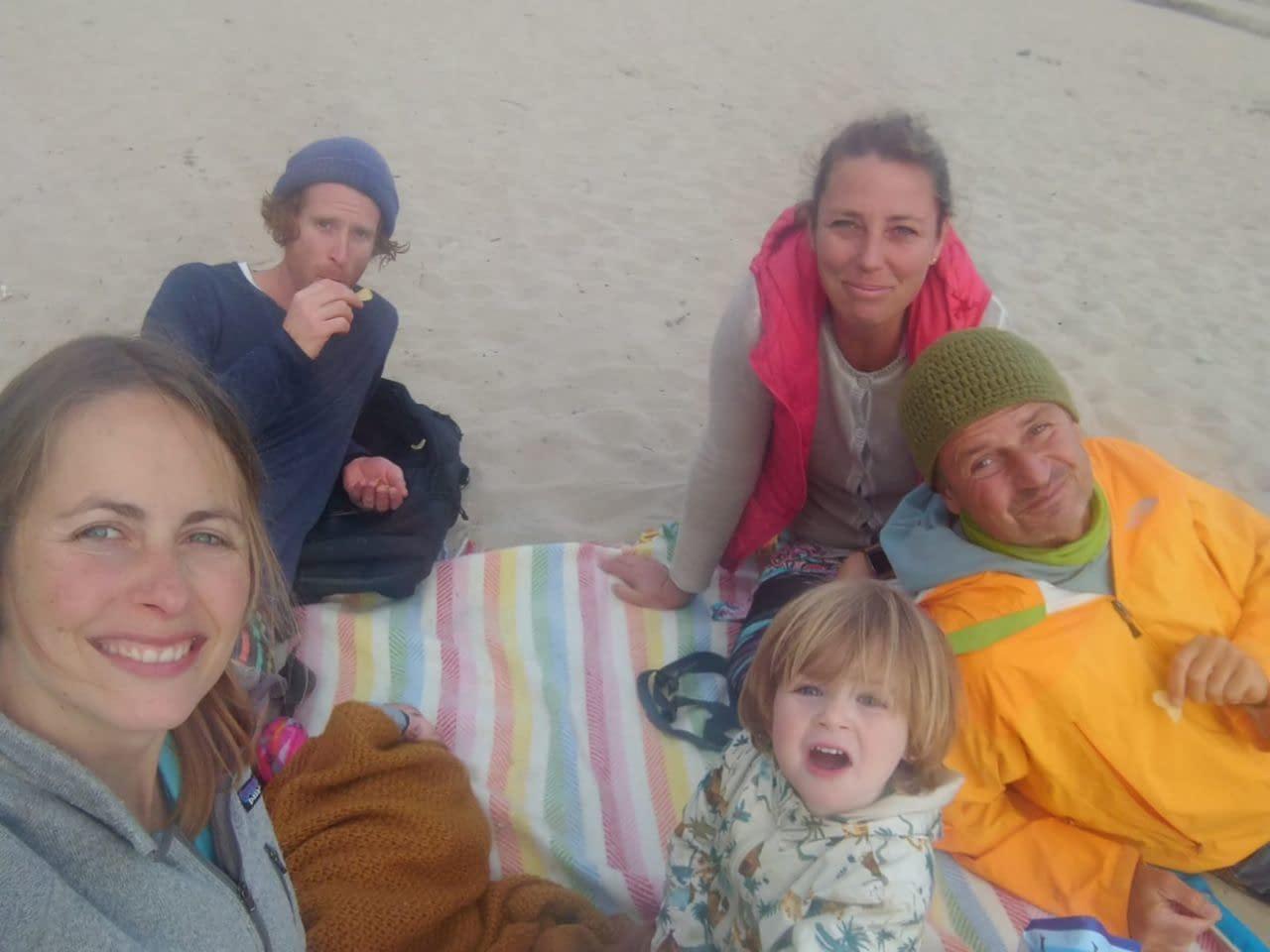 Familie Strand Christina Teuthorn-Mohr